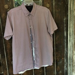 Ted Baker Short Sleeve Button Front Shirt